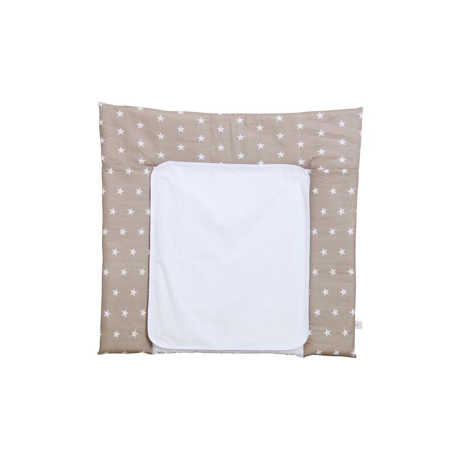 Polini Dětská přebalovací podložka 77 x 72 cm stars macchiato