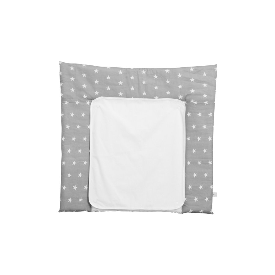 Polini Kids changing mat 77 x 72 cm stars grey