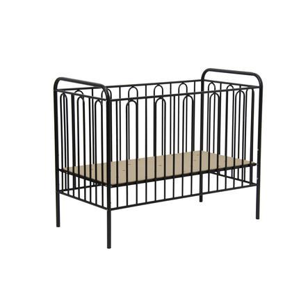 Polini Kids Lit enfant à barreaux Vintage 110 60x120 cm métal noir