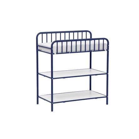 Polini Mesa de cambio para niños Vintage azul