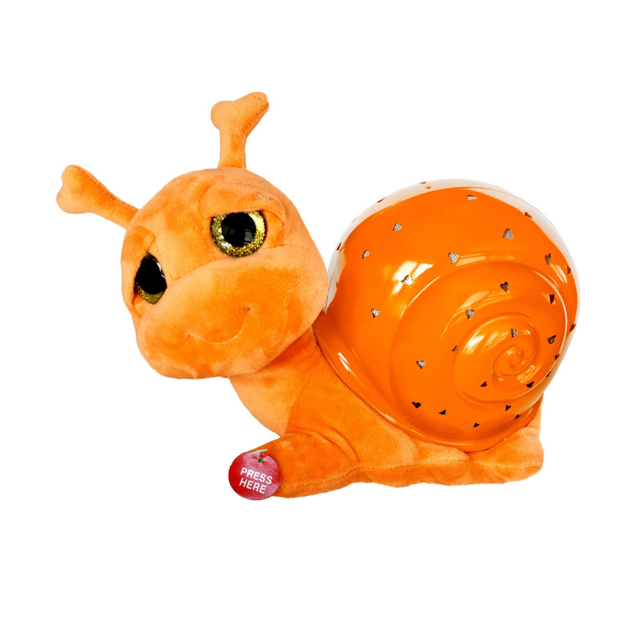 XTREM Toys and Sports - GUTE NACHT light up Schnecke orange
