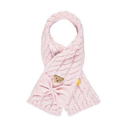 Steiff Girls szalik barely różowy