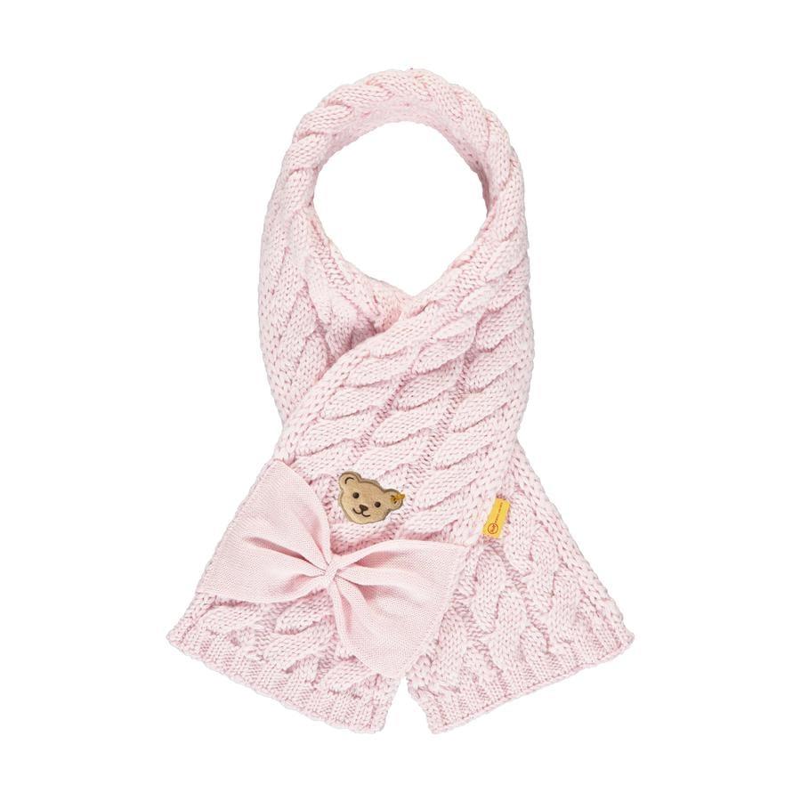 Steiff Girls Schal barely pink