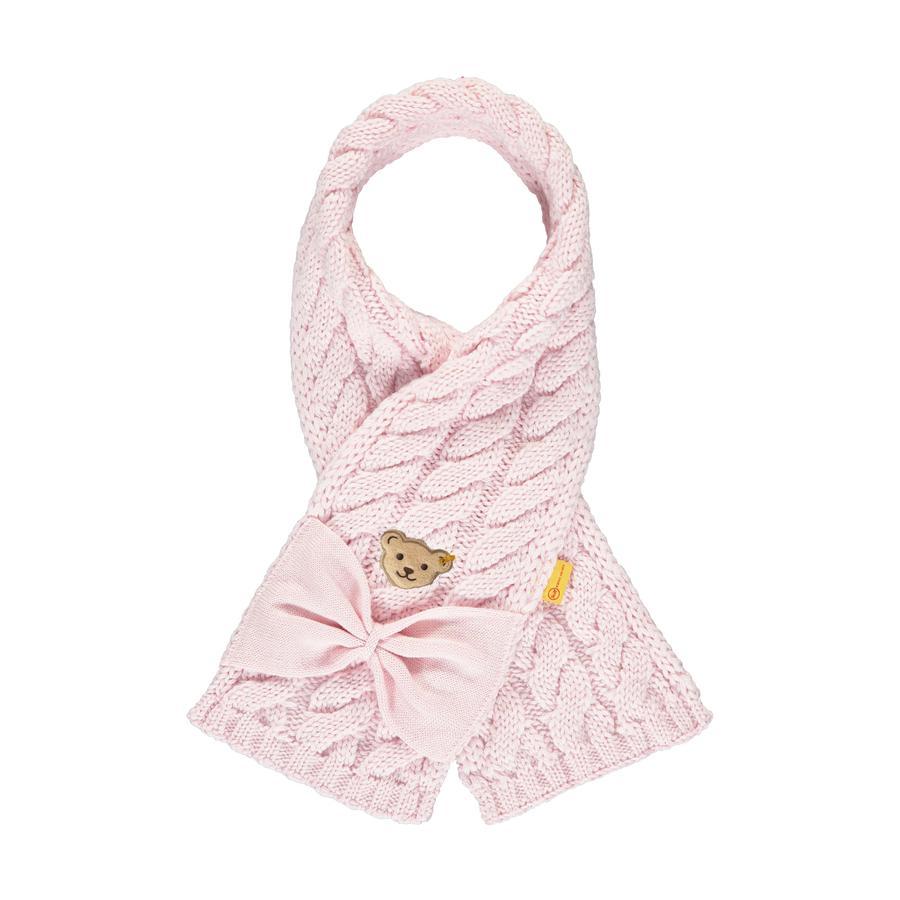Steiff Girls sciarpa barely rosa