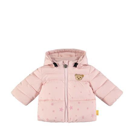 Steiff Girls -takki tuskin vaaleanpunainen