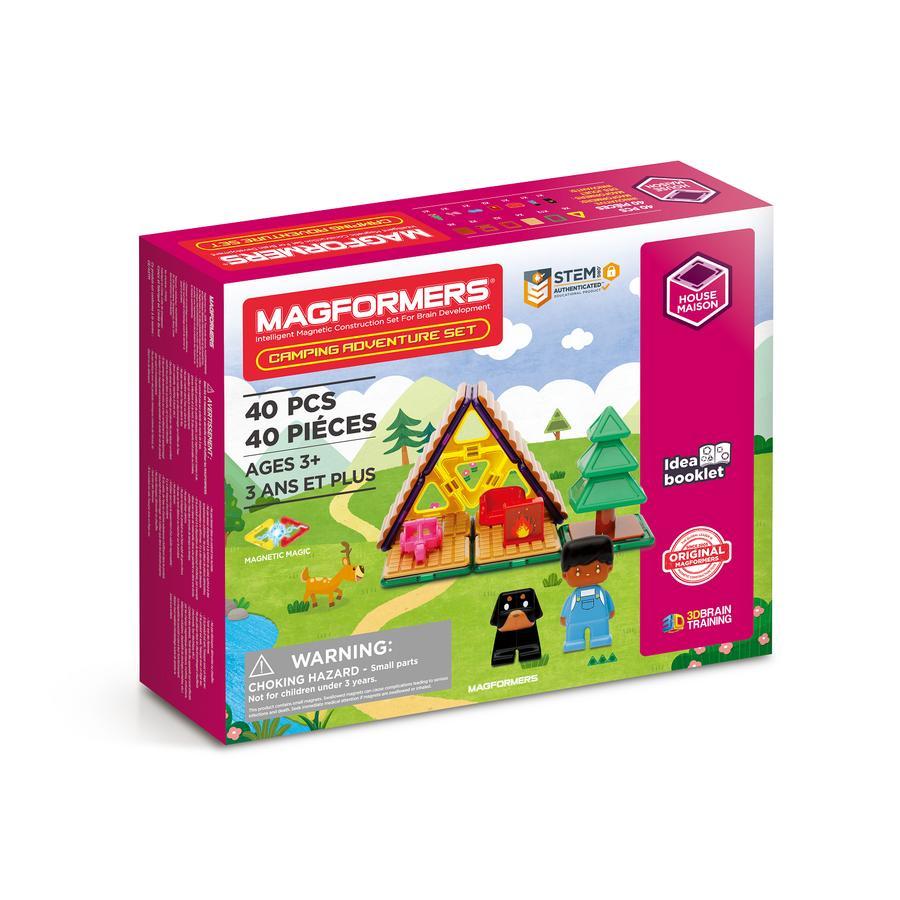 MAGFORMERS ® Jeu de construction magnétique enfant Set Camping Adventure