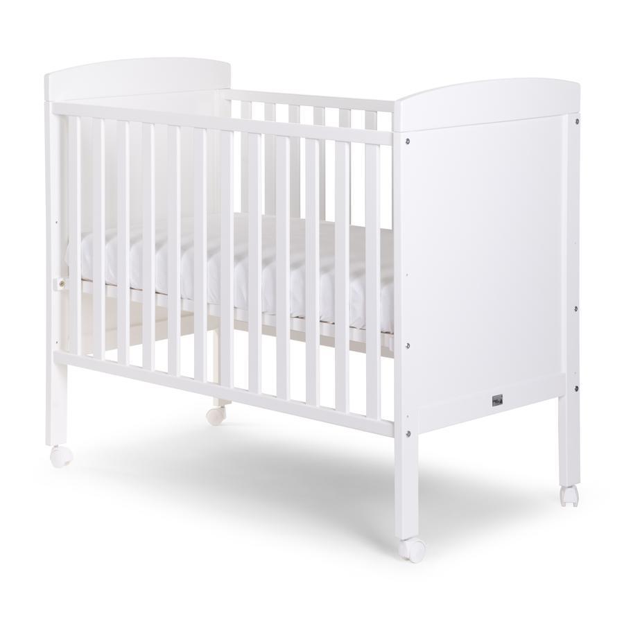 CHILD HOME Vauvan sänky valkoinen 60 x 120 cm + pyörät
