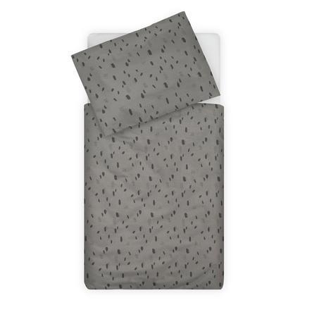 jollein Bettwäsche  Spot storm grey 100 x 140 cm