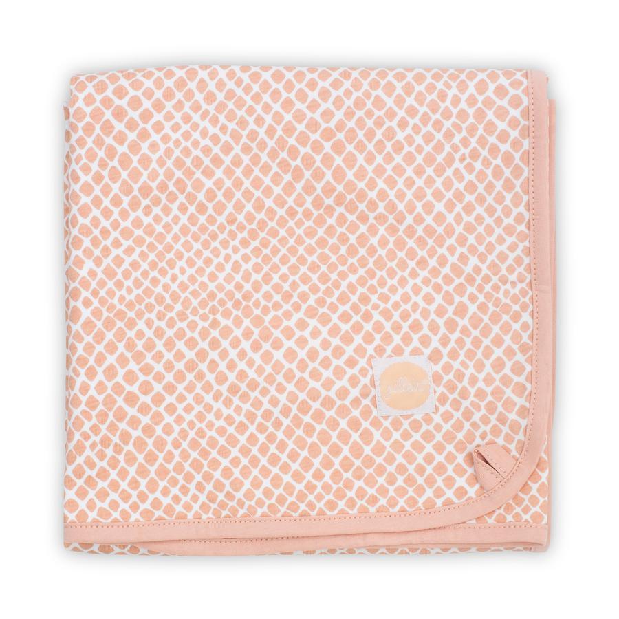 jollein Decke Jersey Snake pale pink 75 x 100 cm