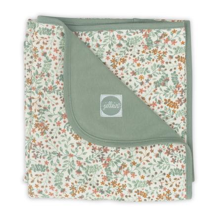 jollein Blanket Jersey blomstrer 75 x 100 cm