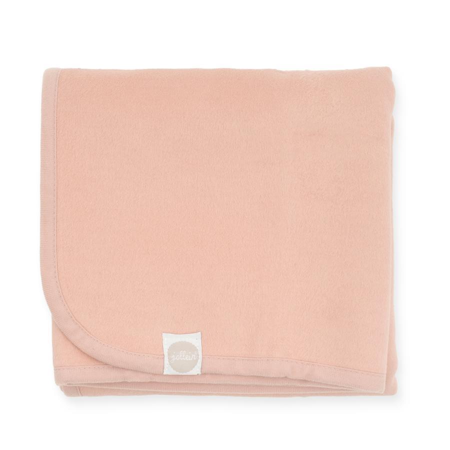 jollein Coperta rosa pallido 75 x 100 cm