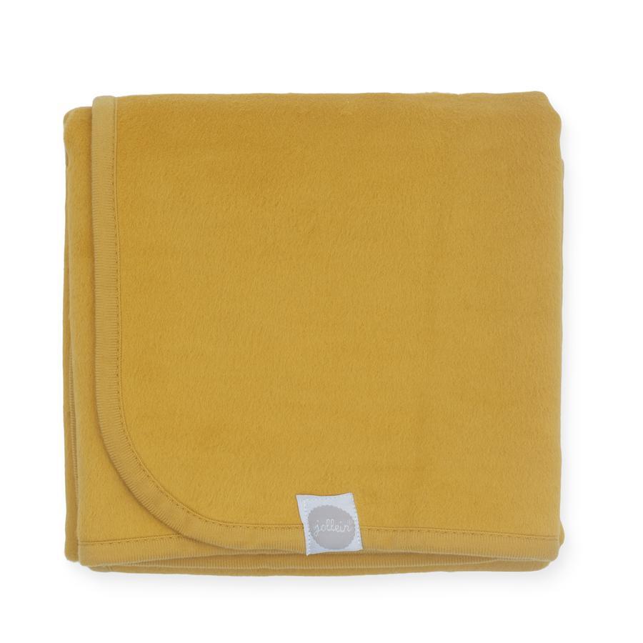 jollein Decke mustard 75 x 100 cm