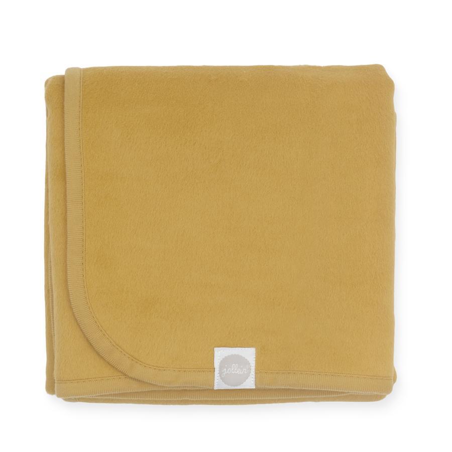jollein Decke mustard 100 x 150 cm