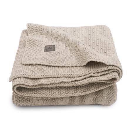 jollein Pletená deka Bliss nugát 75 x 100 cm