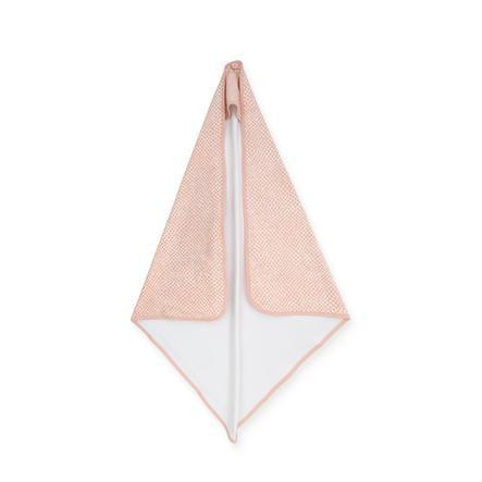 jollein Cape de bain enfant Snake pale pink 75x75 cm