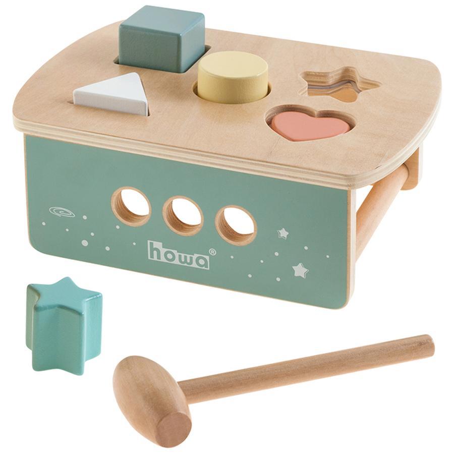 juego de clasificaci/ón Space de madera 6021 Howa Banco martillo