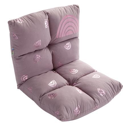 "howa ® 2 en 1 silla para niños + tumbona para niños ""arco iris""."