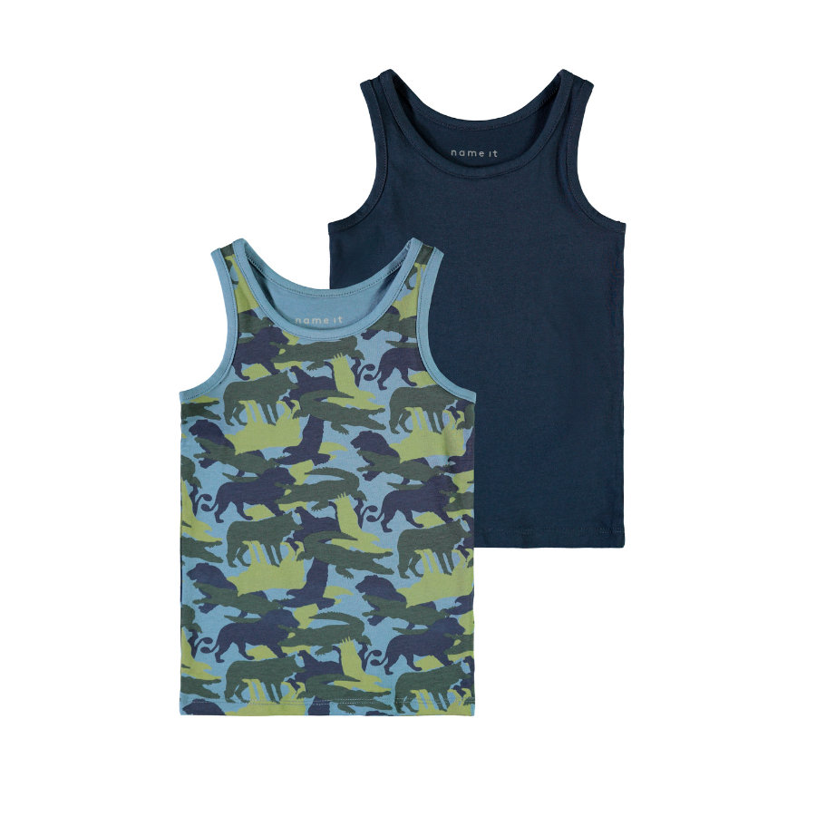 name it Tank Top China Blue