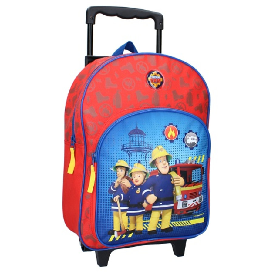 Vadobag trolley rugzak brandweerman Sam Fire Rescue