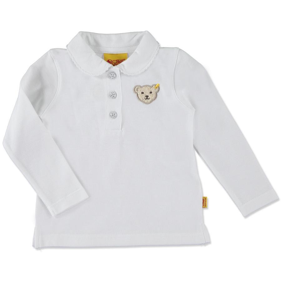 Steiff Girl s Poloshirt blanc vif