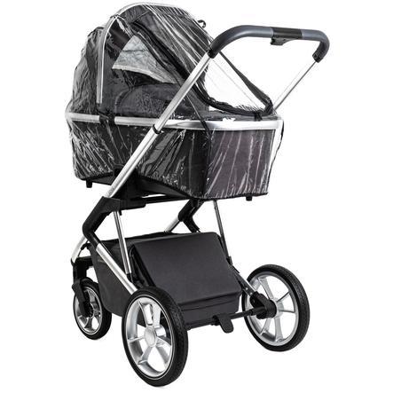 MOON Regenschutz für Kinderwagen Resea und Style Transparent