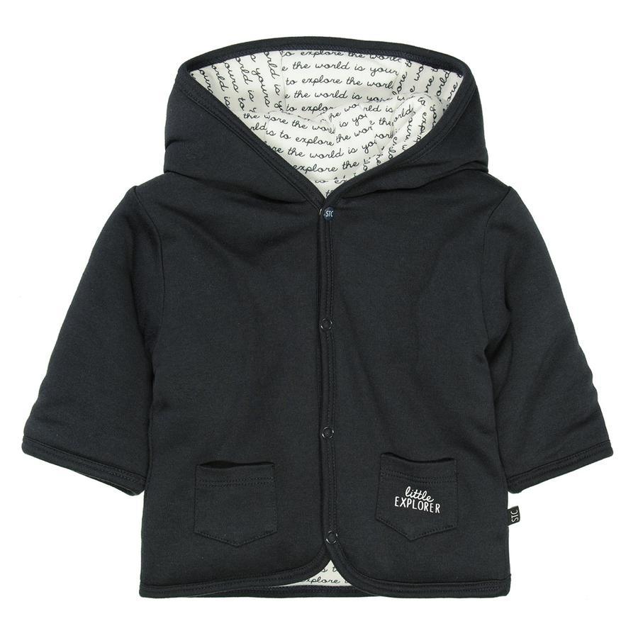 STACCATO  giacca reversibile antracite