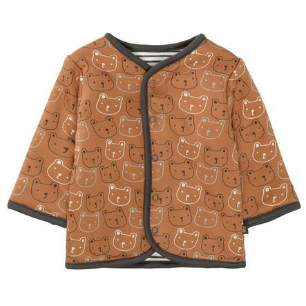 STACCATO  veste réversible matelassée à motifs de chameau