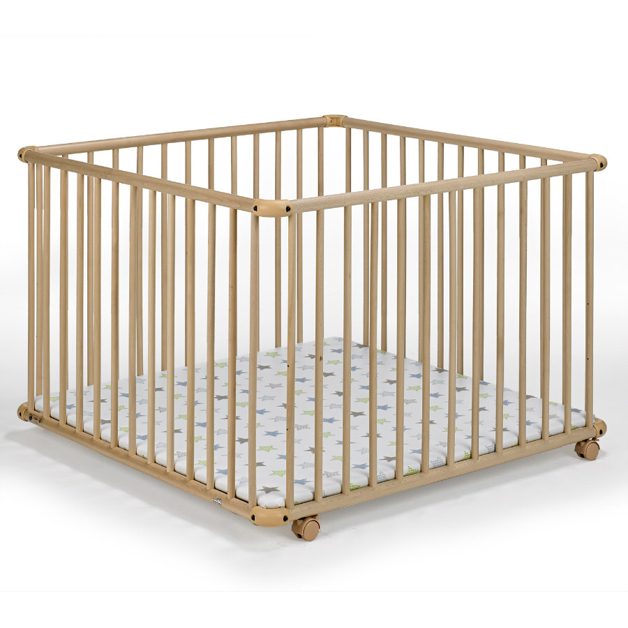 GEUTHER Playpen Belami natural 102x102cm (2233) NA 032