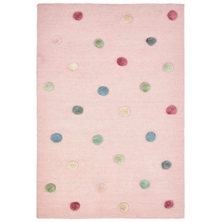 LIVONE Tapis enfant COLORMOON rose/multi 160x230 cm