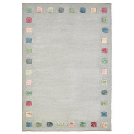 LIVONE tapis pour enfants COLOR BORDER gris argenté/multi 120x180 cm