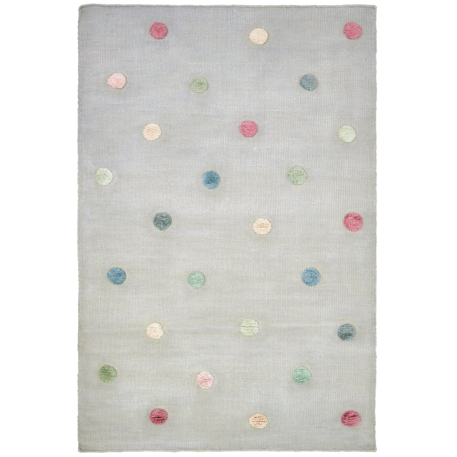 LIVONE Kinderteppich COLORMOON silbergrau/multi 120x180 cm