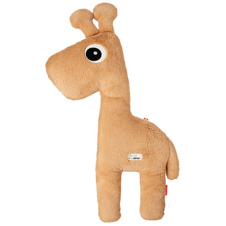 Done by Deer ™ Plyšová hračka Cuddle Kamarád žirafa Raffi, hořčicově žlutá