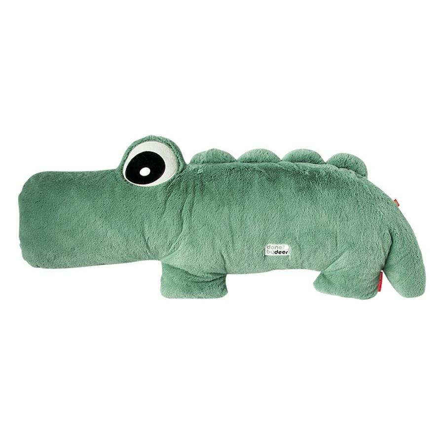 Done by Deer™ Peluche Cuddle Friend Croco le crocodile, vert