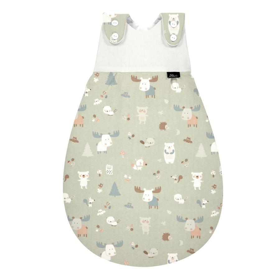 Alvi Baby-Maxchen® -unipussi Jersey Baby Forest