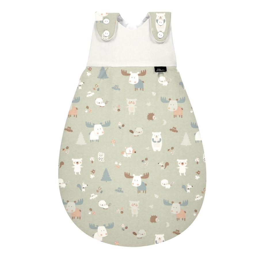 Alvi Baby-Maxchen® yttersekk Jersey Baby Forest