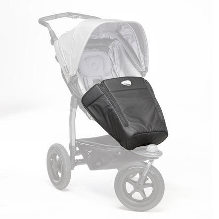 tfk Fußdecke Mono für Kinderwagen Schwarz