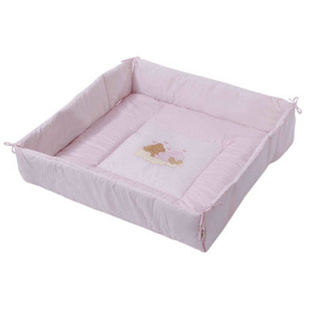Easy Baby Kombi-Laufstalleinlage Sleeping Bear Rosé