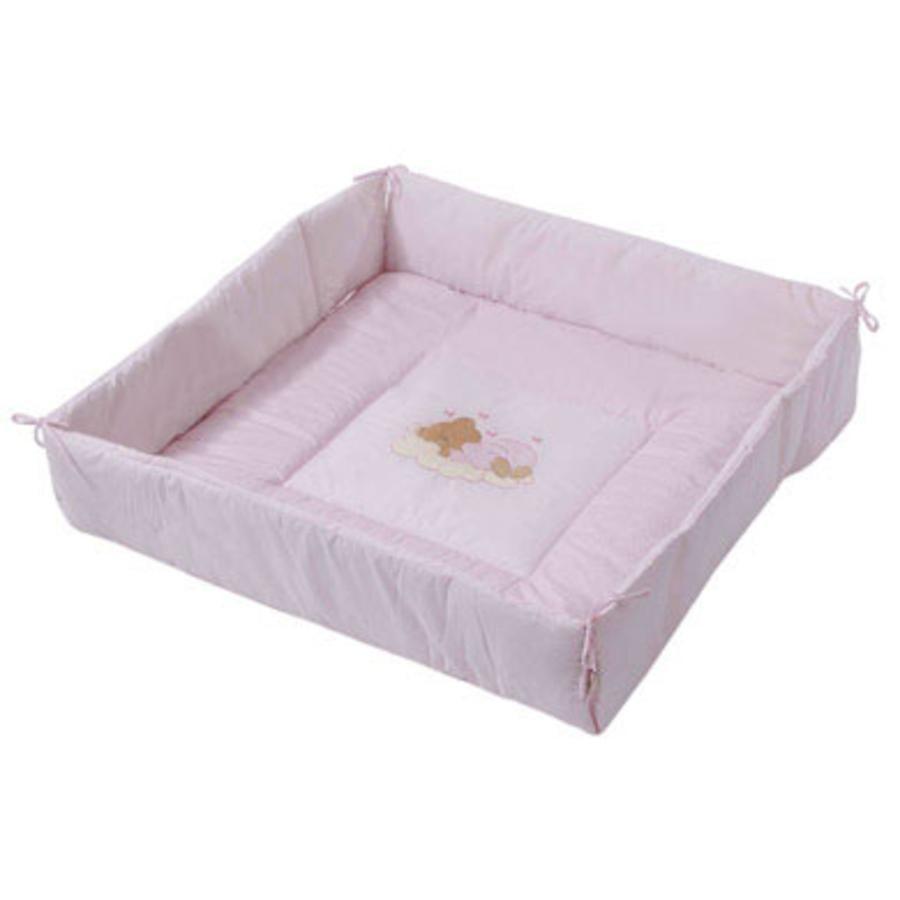 Easy Baby Colchoneta combi para parque Sleeping Bear Rosé
