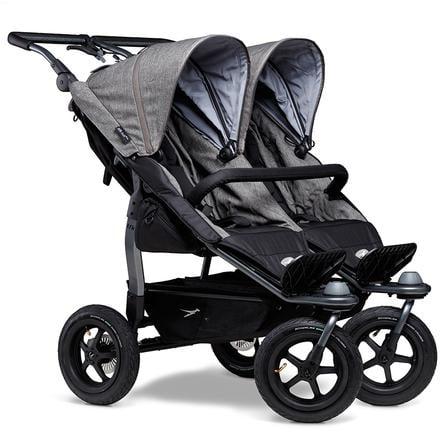 tfk Cochecito gemelar Duo Air Premium Grey