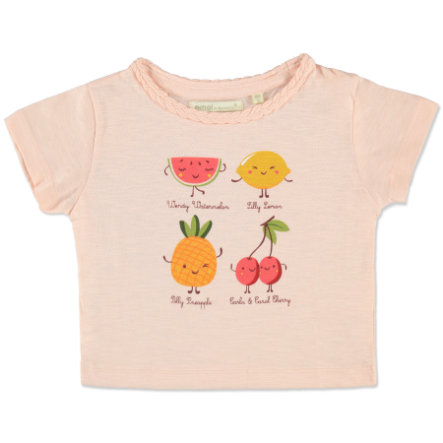 EMOI Girls Mini T-Shirt Früchte koralle