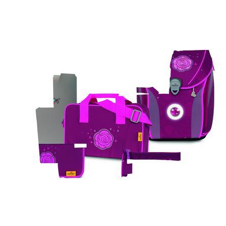 DerDieDas ® ErgoFlex MAX Exclusive LED - Glitter Rose, 5 pcs.