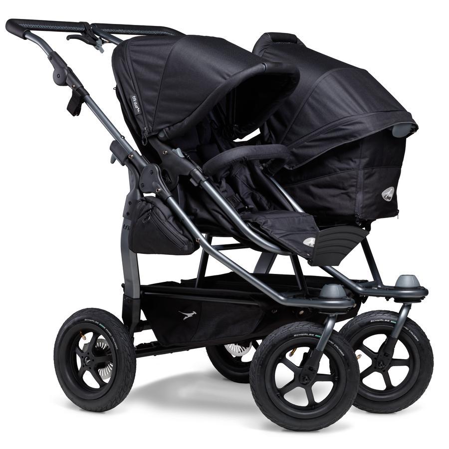 tfk Duo Air Black Combi Stroller tfk