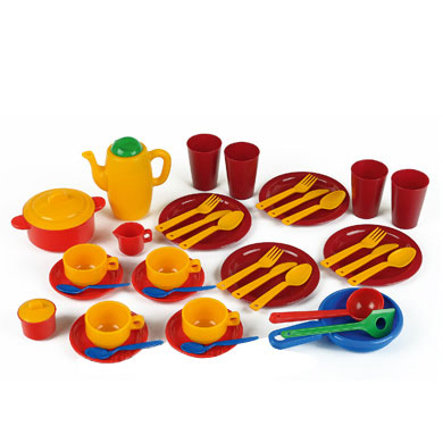 KLEIN Casa Mia Large Cooking, Eating and Coffee Set