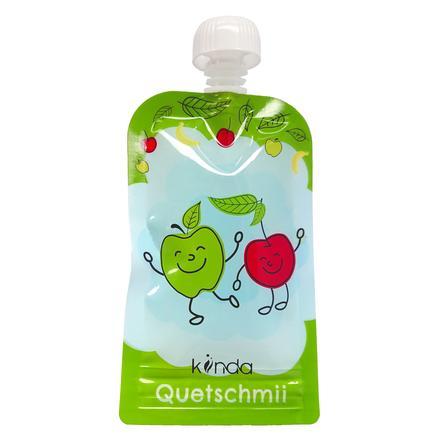 kiinda Quetschbeutel Quetschmii - återanvändbar klämpåse 100 ml