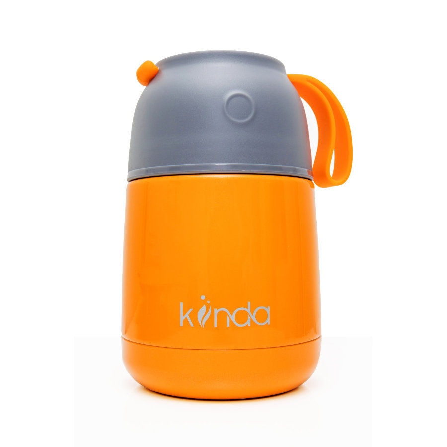 kiinda Thermo Essbehälter 450ml, in orange