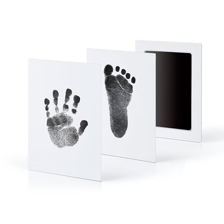 kiinda Hånd- og fodaftryk sæt Clean Touch, i sort