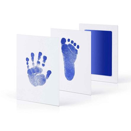 kiinda Hand- und Fußabdruckset CleanTouch, in blau