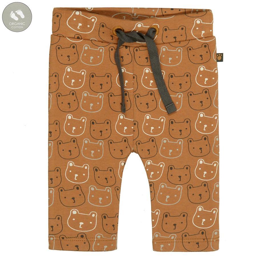 STACCATO Leggings kamelmønstret