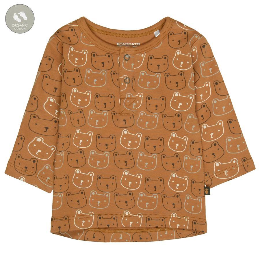 STACCATO paita kamelin kuviollinen