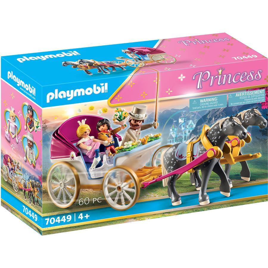 PLAYMOBIL ® Prince ss Romantisk hestevogn